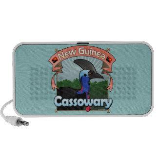 New Guinea Cassowary Mp3 Speakers