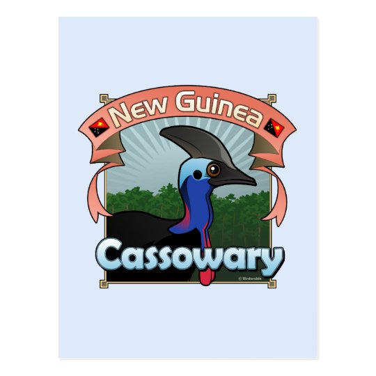 New Guinea Cassowary Postcard