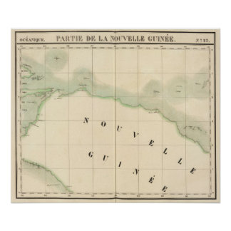 New Guinea Oceania no 23 Poster