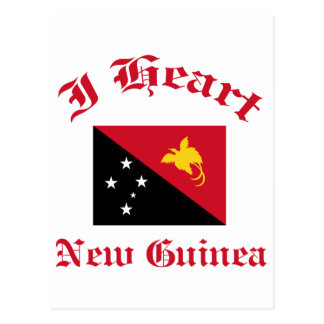 New Guinea Postcard