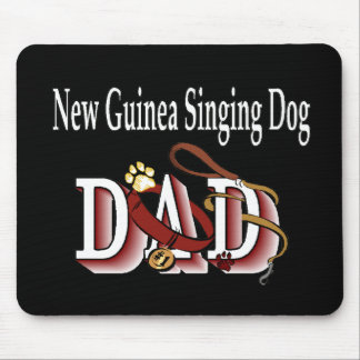 New Guinea Singing Dog Dad Gifts Mouse Pad
