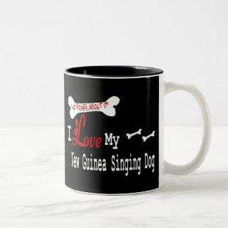 New Guinea Singing Dog (I Love) Mug