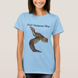 New Guinean Boa Ladies Baby Doll T-Shirt