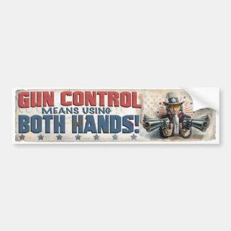 New Gun Rights Gear Bumper Sticker