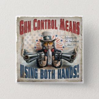 New Gun Rights Gear Button