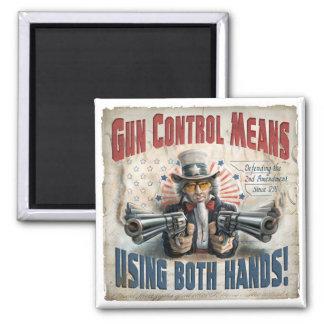 New Gun Rights Gear Magnet