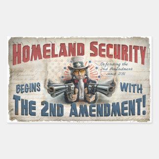 New Gun Rights Gear Rectangular Sticker