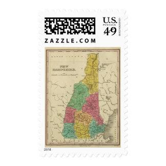 New Hampshire 2 Postage