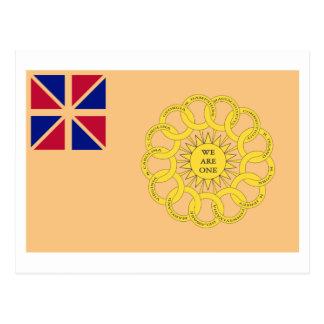 New Hampshire 2nd Regiment Flag Postcard