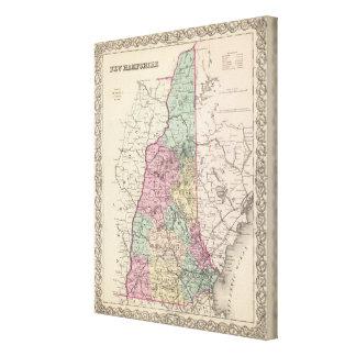 New Hampshire 3 Canvas Print