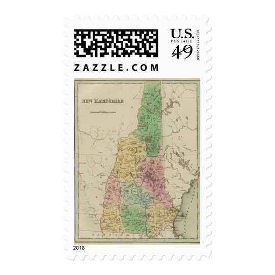 New Hampshire 3 Postage