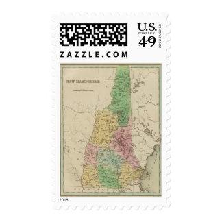 New Hampshire 3 Postage Stamp