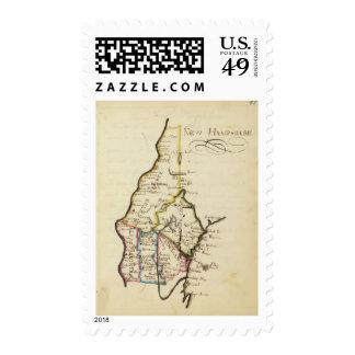 New Hampshire 3 Stamp