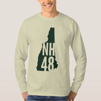 New Hampshire 4000 Footer List Long Sleeve T-Shirt
