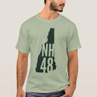 New Hampshire 4000 Footers List T-Shirt
