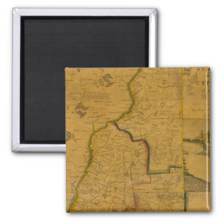 New Hampshire 4 2 Inch Square Magnet
