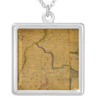 New Hampshire 4 Square Pendant Necklace