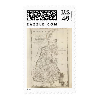 New Hampshire 4 Stamps