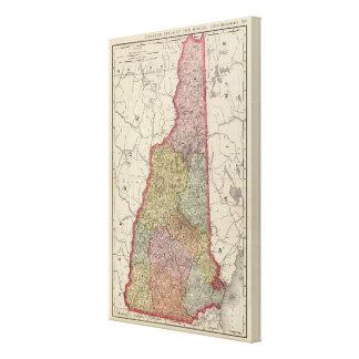 New Hampshire 5 Impresión En Lona