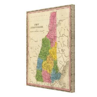 New Hampshire 6 Canvas Print