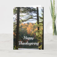 New Hampshire 7729 Thanksgiving Card