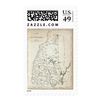 New Hampshire 7 Postage Stamps