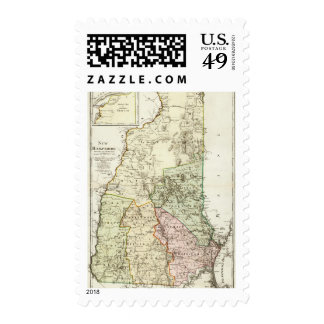 New Hampshire 7 Stamps
