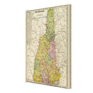 New Hampshire 8 Canvas Print