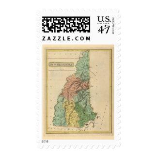 New Hampshire 8 Postage