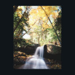 """New Hampshire, A waterfall in the White Canvas Print<br><div class=""""desc"""">New Hampshire,  A waterfall in the White Mountains. 