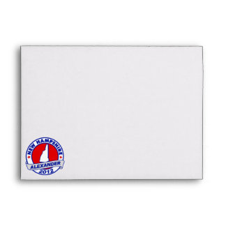 New Hampshire Alexander Envelopes