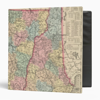 New Hampshire and Vermont 3 Binder
