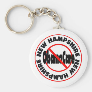 New Hampshire Anti ObamaCare – November's Coming! Keychain