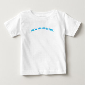 New Hampshire Arch Text Baby T-Shirt