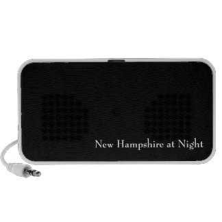 New Hampshire at Night Notebook Speakers