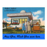 New Hampshire, Bedford Golfland, Manchester Tarjeta Postal