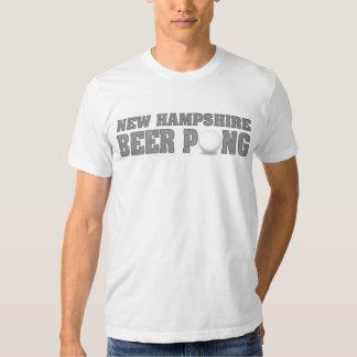 New Hampshire Beer Pong T-Shirts