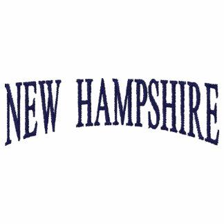 New Hampshire bordó la camisa Polo