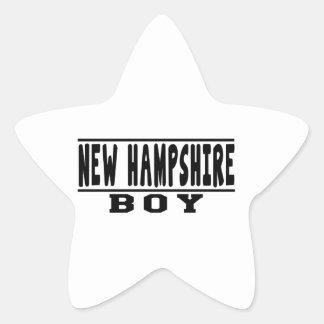 New Hampshire Boy Designs Sticker