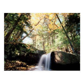 New Hampshire, cascada de A en el blanco Postal