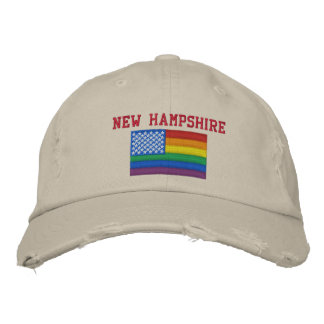 New Hampshire Celebrates Equality Baseball Cap