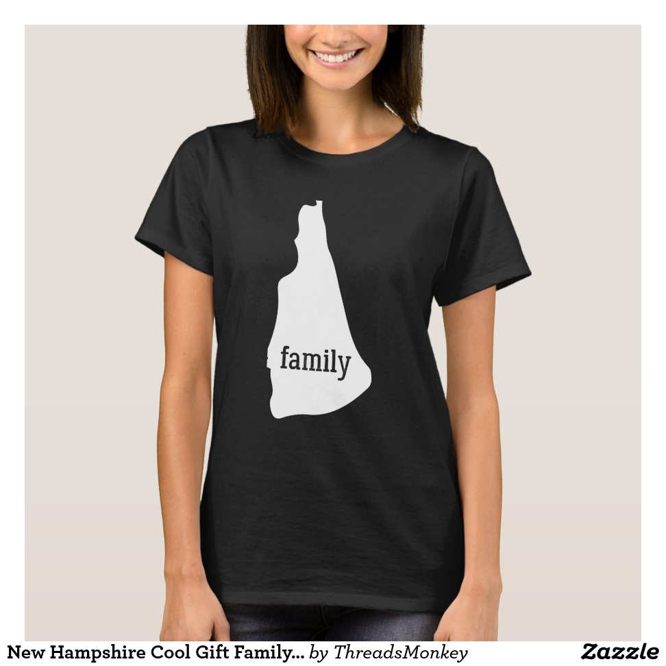 New Hampshire Cool Gift Family State Shirt Light - Best Selling Long-Sleeve Street Fashion Shirt Designs