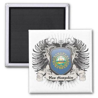 New Hampshire Crest Refrigerator Magnets