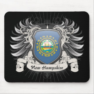New Hampshire Crest Mouse Pad