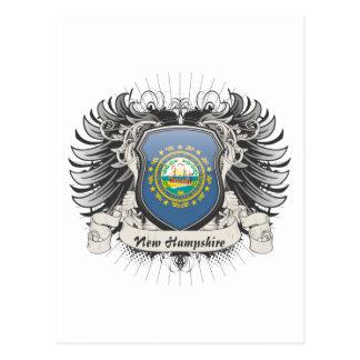 New Hampshire Crest Postcard