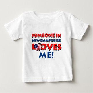 NEW HAMPSHIRE designs Baby T-Shirt