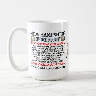 New Hampshire Divorce Industry. Mug