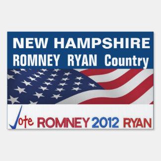 NEW HAMPSHIRE es muestra del país de Romney Ryan