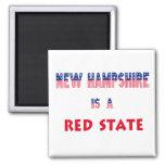 New Hampshire es un estado rojo Imán De Frigorifico