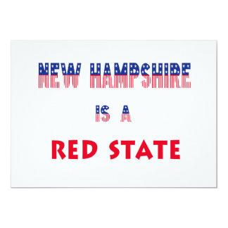 New Hampshire es un estado rojo Anuncios Personalizados